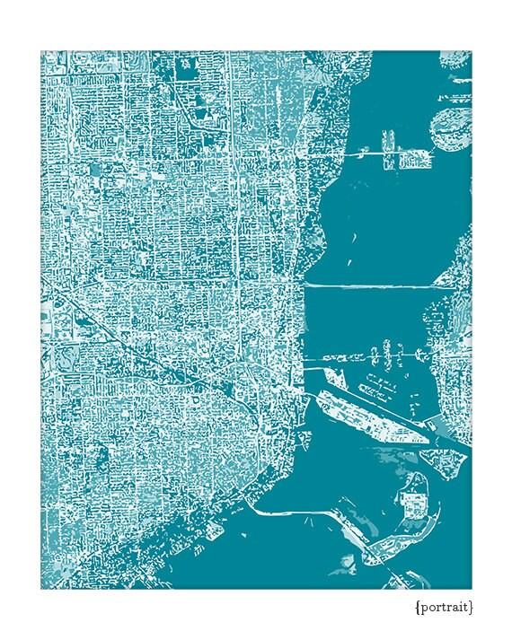 city show map of florida