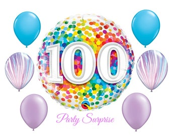 100th Birthday Balloon Package 100 Years