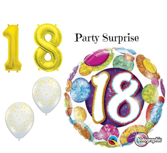 18th Birthday Balloon Package 18th Birthday Party