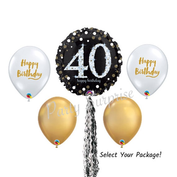 "Happy 65th Birthday 18/"" Balloon Birthday Party Decorations"