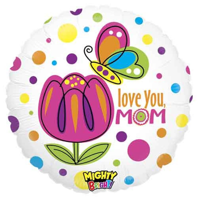 Best Mom Ever Balloons Mothers Day Grandma Birthday