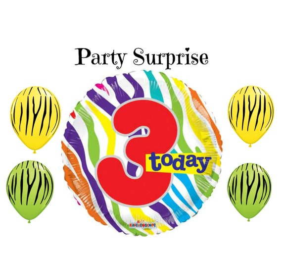 3 Years Old Birthday Balloons I Am Today 3rd Party Decoration