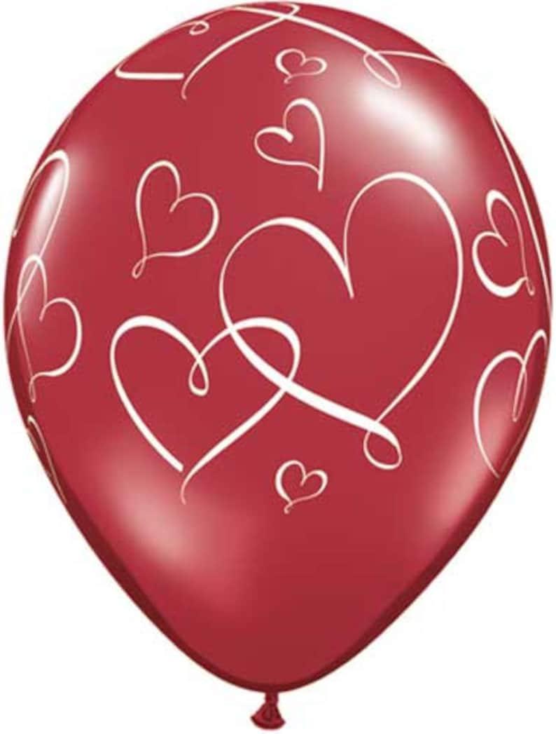 XOXO Balloon Ombre Mylar Foil 30 Love Wedding Bridal Shower Bachelorette Party Engagement Rehearsal Dinner Valentines Day XOXO Balloons