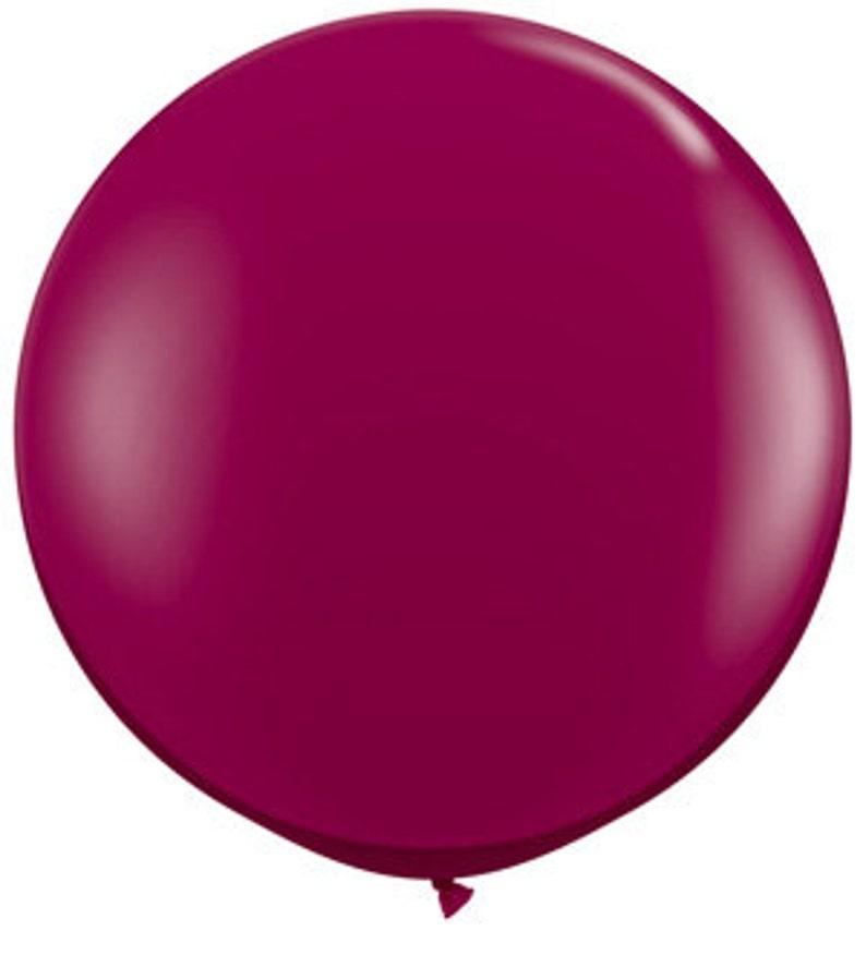 Burgundy Balloons latex Jumbo 36 16 11 5 Sparkling Burgundy balloons Weddings Birthday Graduation Prom Party Balloons by Qualatex