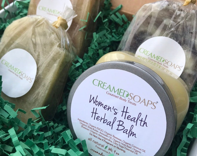 Featured listing image: Herbal Balm Gift Set; Aromatherapy Gift Set; Soap Gift Set; Self Care Kit