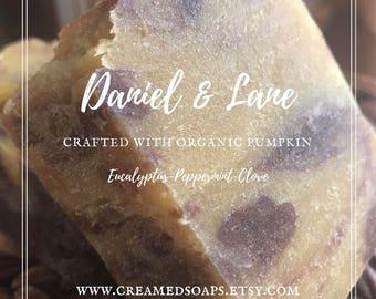 Eucalyptus, Peppermint, Clove - Vegan Hot Process Soap
