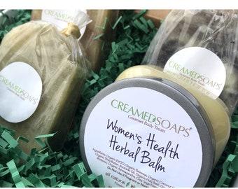 Herbal Balm Gift Set; Aromatherapy Gift Set; Soap Gift Set