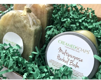 Herbal Balm Gift Set; Soap Gift Set; Bath Body Gift Set