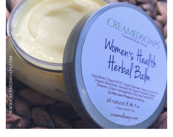 Featured listing image: Wholesale Herbal Balm - Wholesale Emotional Balance Balm - Wholesale Organic Beeswax Balm -12 ct  (4oz)