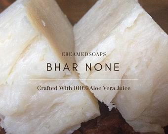Unscented Aloe Vera - Vegan Hot Process Soap
