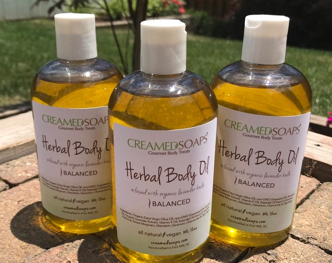 Featured listing image: Herbal Body Oil (12oz)