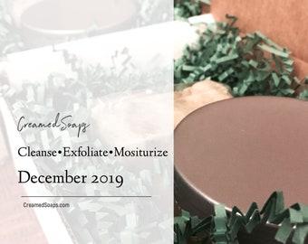 Cleanse-Exfoliate-Moisturize Gift Set; Self Care Set