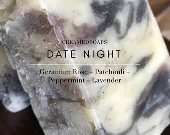 Lavender, Peppermint, Geranium, Patchouli Soap; Hot Process Soap; Shea Butter Soap; Vegan Soap