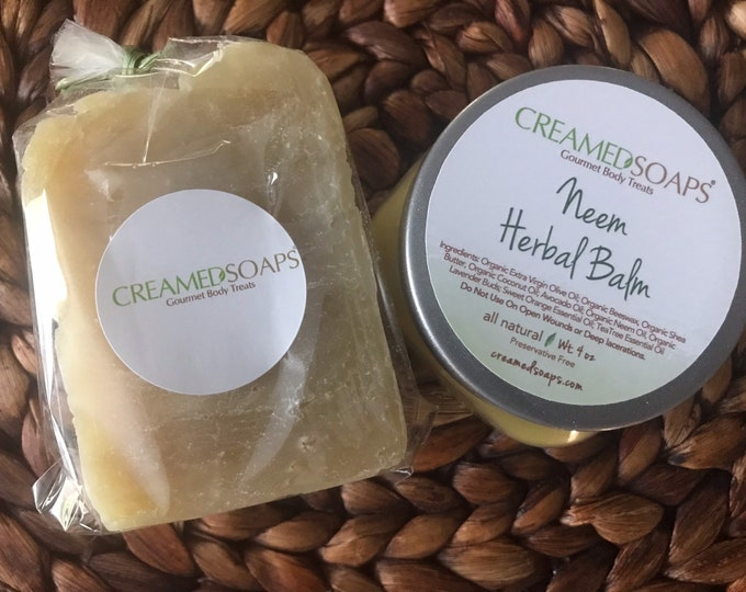 Featured listing image: Neem Oil Soap Set; Neem Duo Set