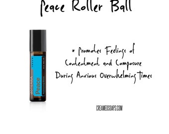 Peace Roller Ball; Aromatherapy Roller Ball; Emotional Support