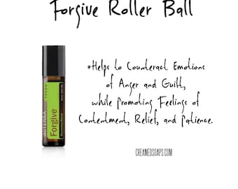 Forgive Roller Ball; Aromatherapy Support; Essential Oil Blend