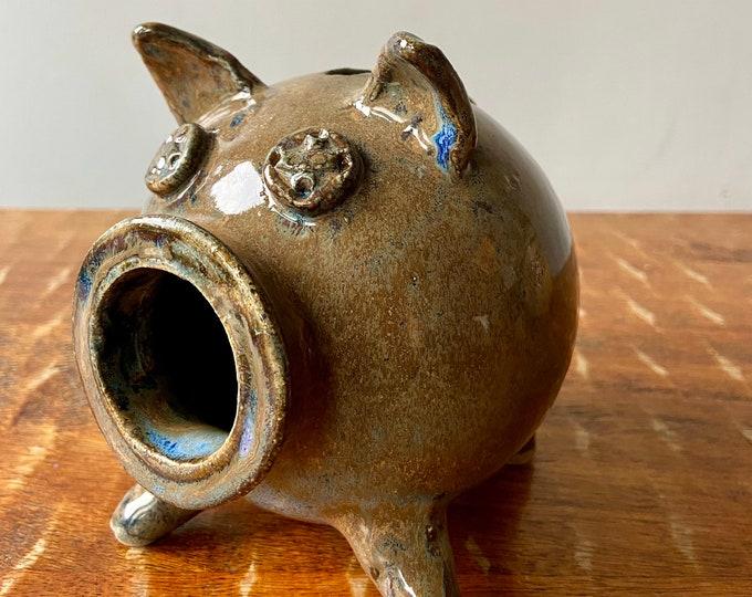 Wheel Thrown Piggy Bank