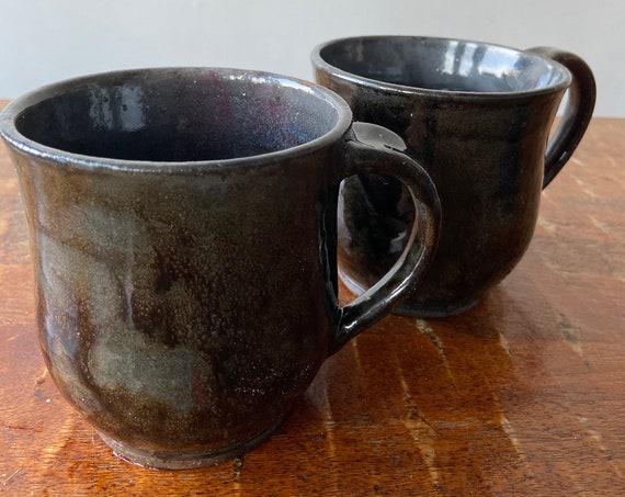 Pair of Hand- Thrown Ceramic Mug