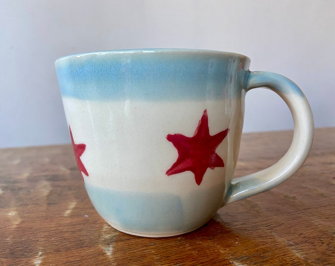 Chicago Flag Mug B