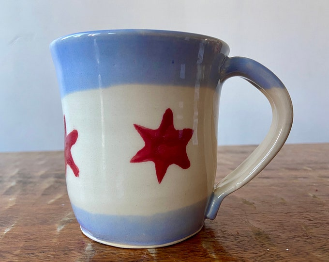 Chicago Flag Mug E