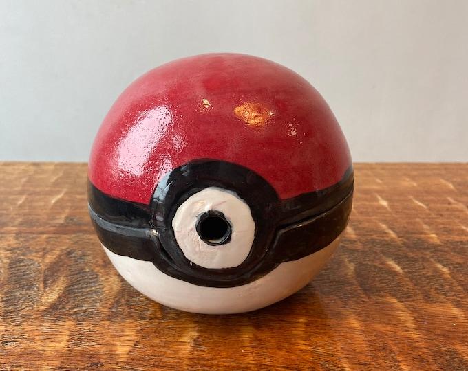 Pokemon Ball Inspired Yarn Bowl