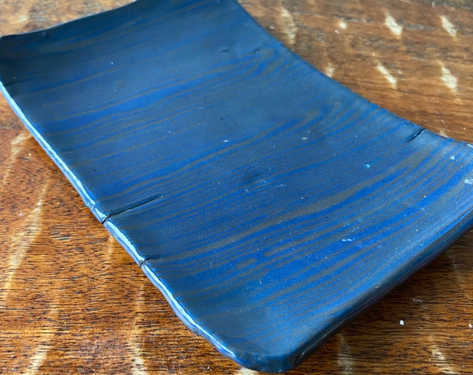 Nerikomi Colored  Porcelain Plate
