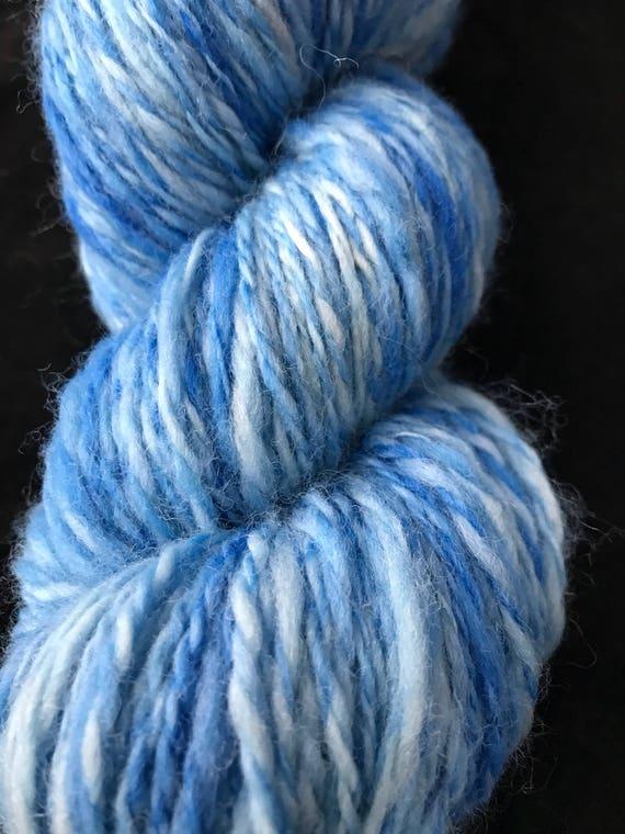 Worsted weight handspun polwarth yarn