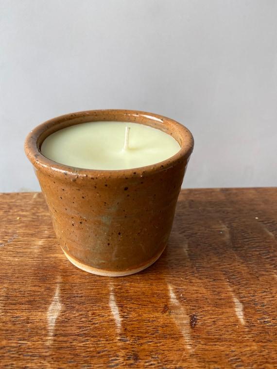 Ceramic Container Candle