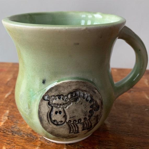 Ceramic Sheep Mug