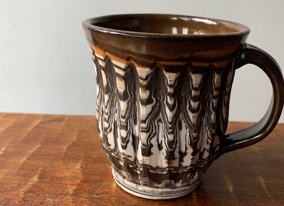 Agateware Ceramic Mug