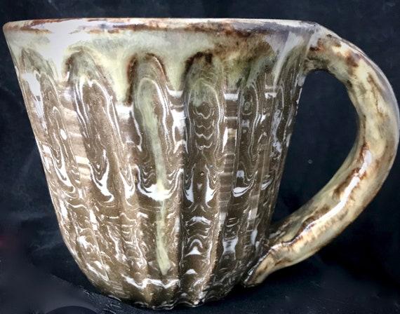 Agateware Ceramic Mug