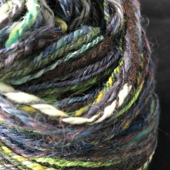 Worsted weight handspun yarn
