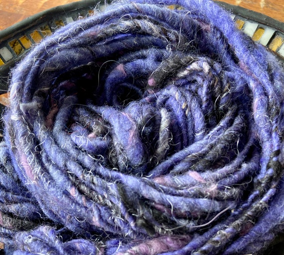 Handspun Thread Plyed Art Yarn
