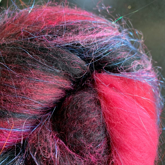 Pop Rocks Bubble Gum  Fiber Batt