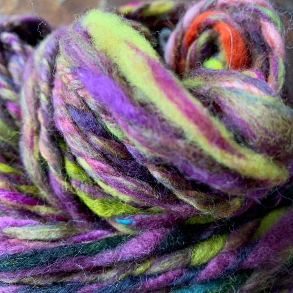 Handspun, Thick and Thin Yarn