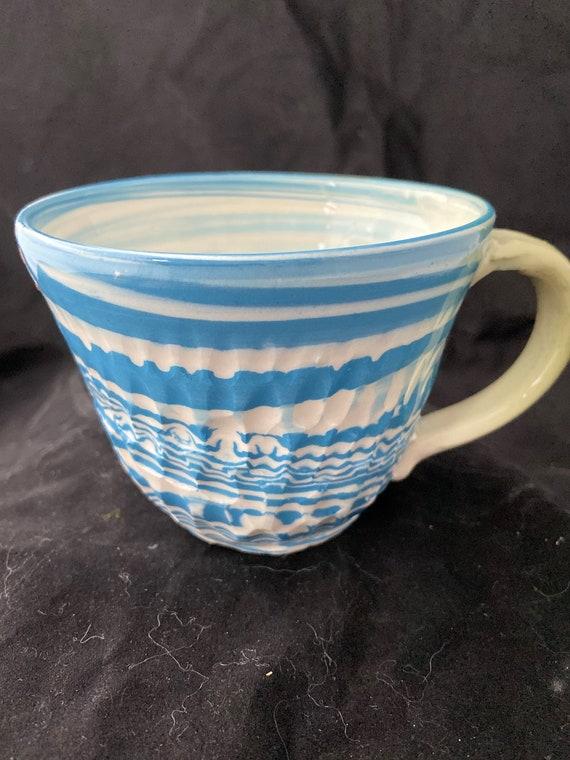 Agateware  Colored Porcelain Mug