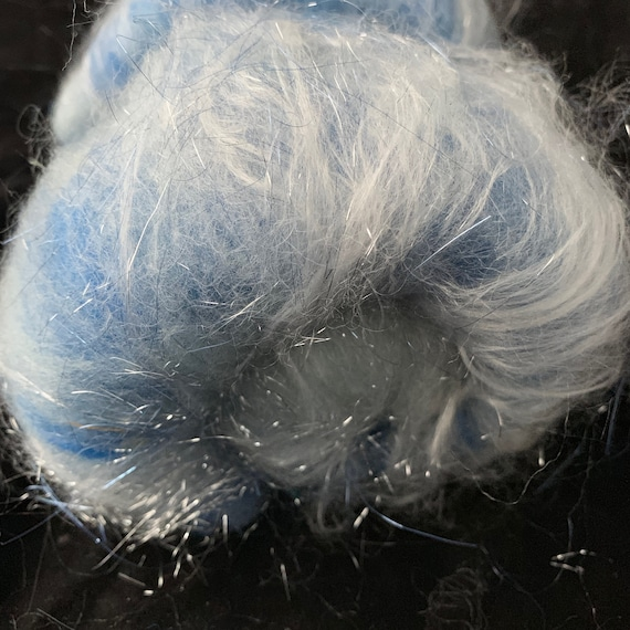 Snowy Night  Fiber Batts