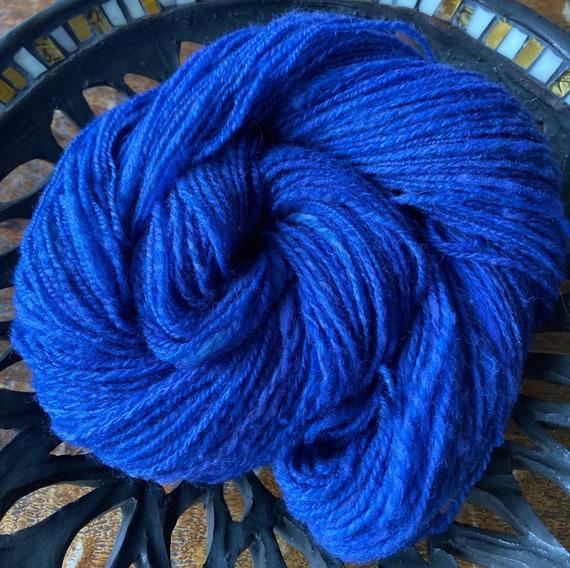 Handspun Finn yarn