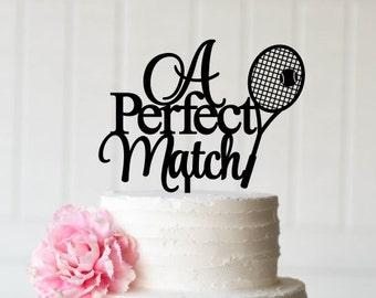 Tennis Cake Topper Etsy