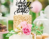 Tale As Old As Time Wedding Cake Topper | Beauty and the Beast Cake Topper | Custom Cake Topper for Wedding | Disney Cake Topper | Fairytale