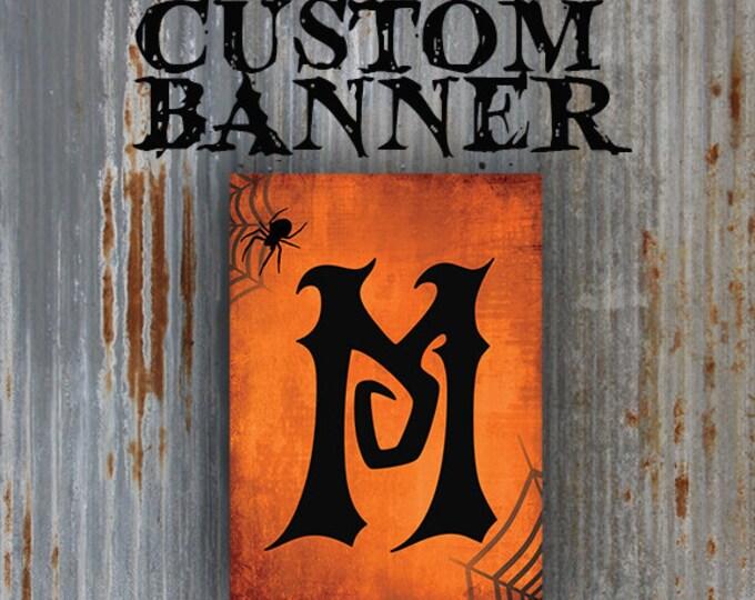 Printable Halloween Banner | Custom Halloween Garland for your DIY Halloween Party Decorations