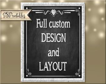 Full custom design and layout