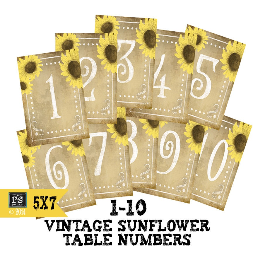 Excellent Diy Printable Table Numbers For Your Rustic Wedding 1 10 Download Free Architecture Designs Rallybritishbridgeorg