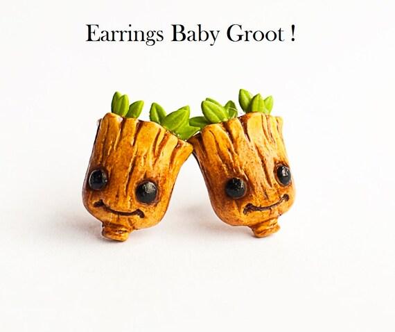 boucle d'oreille groot