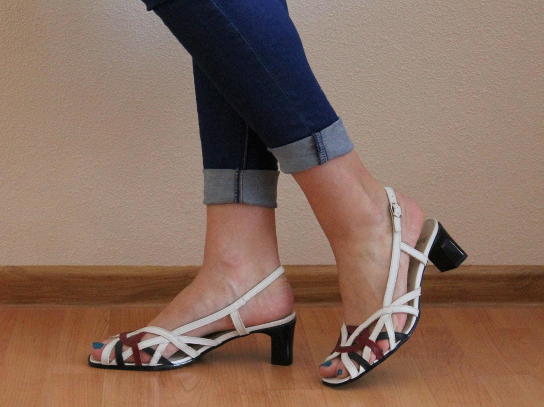 Sandalen Schuhe weiß Leder Schuhe Frauen Schuhe Leder Riemen