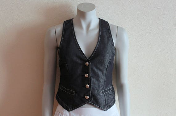 Women's Vest Fitted Women Vest  Formal Fitted Wais