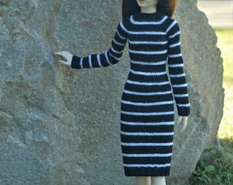 BJD MSD 1:4 Handknitted dress