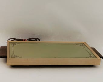 Vintage Electric Hot Plate Warming Tray by Cornwall
