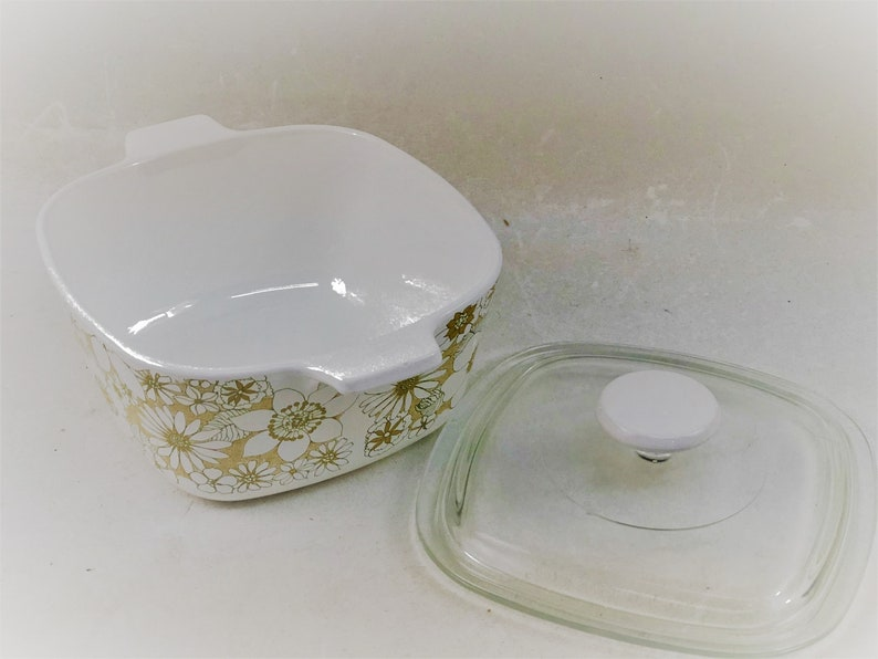 Limited Edition Gift Line 1969 Corning Ware Floral Boquet 1st Edition