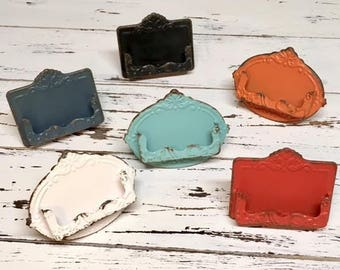 Business card holder etsy business card holdershabby chicvintage business card holderreward cards loyalty reheart Choice Image